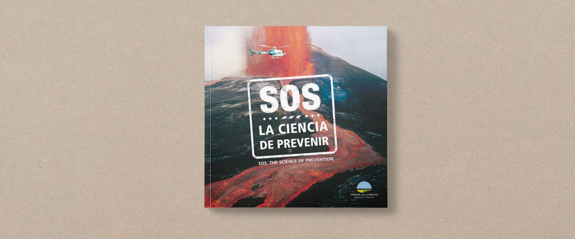 portada catálogo exposición SOS del parque de las ciencias de granada