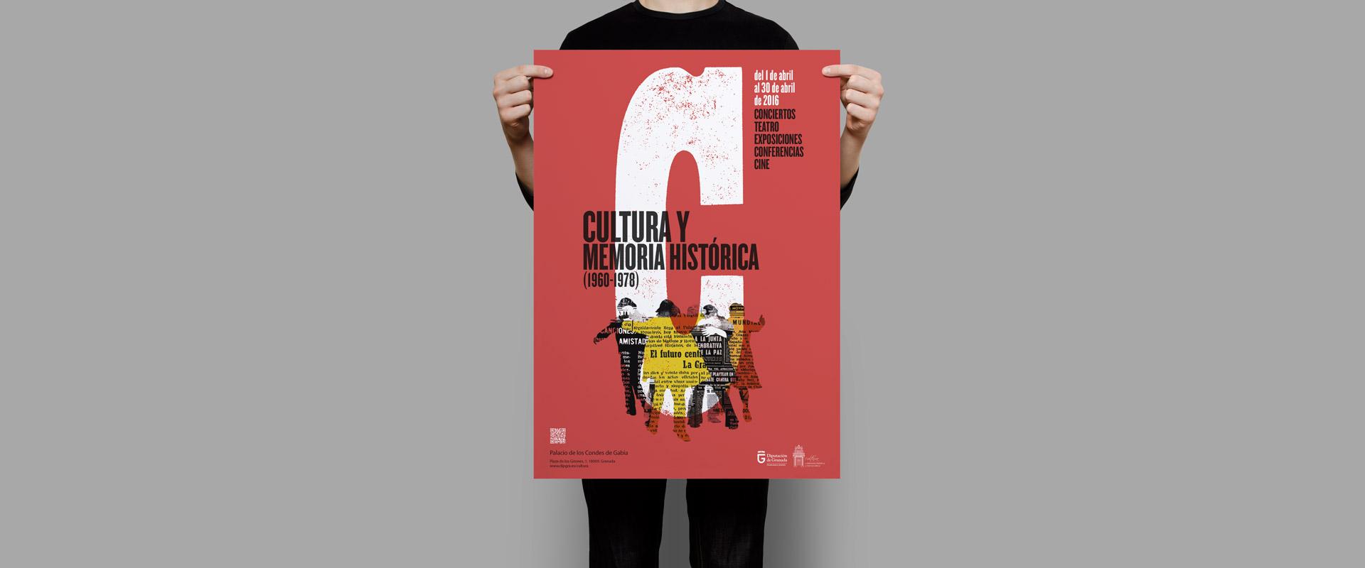 cartel jornadas Cultura y memoria historica