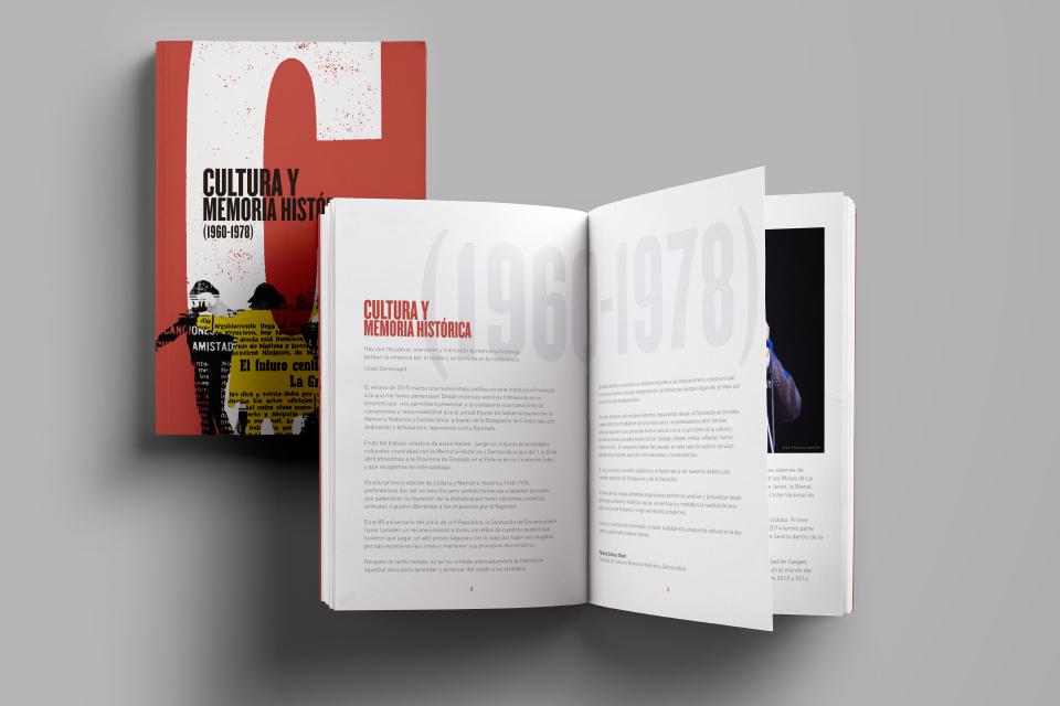 folleto de mano jornadas Cultura y memoria historica