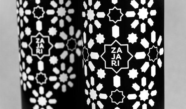 Zajari diseño de botella aceite oliva
