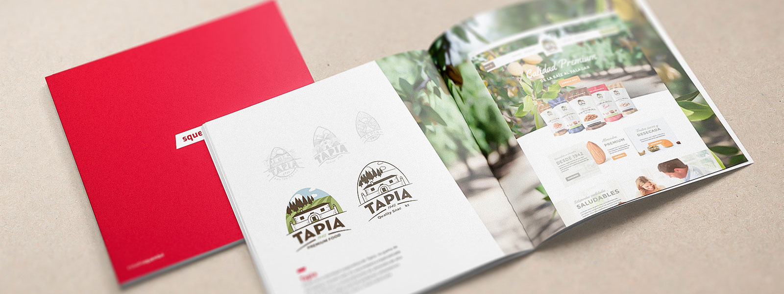 Identidad Corporativa diseño packaging Tapia