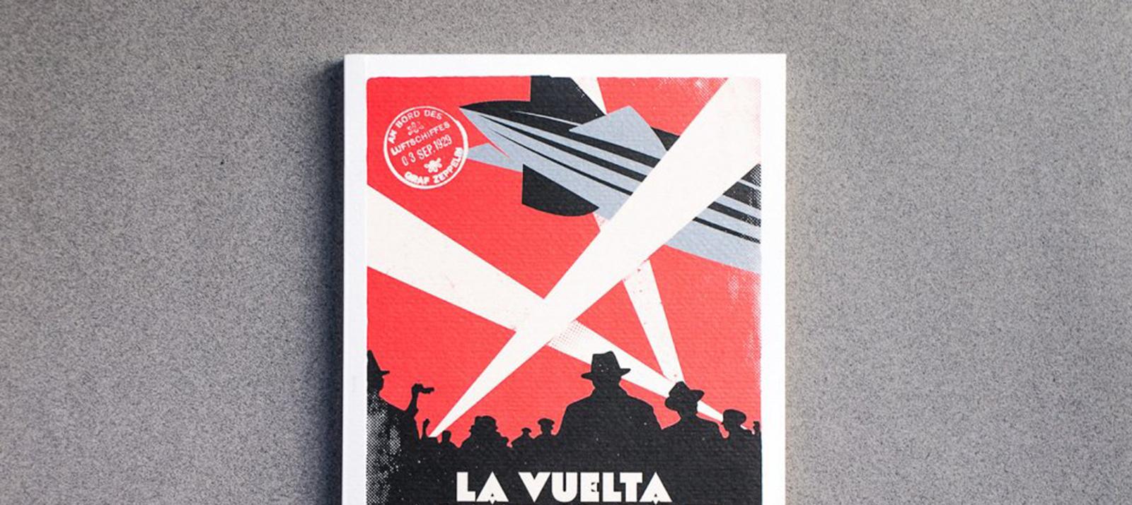La vuelta al mundo del Graf Zeppelin Diseño Editorial Macadán Libros Slider
