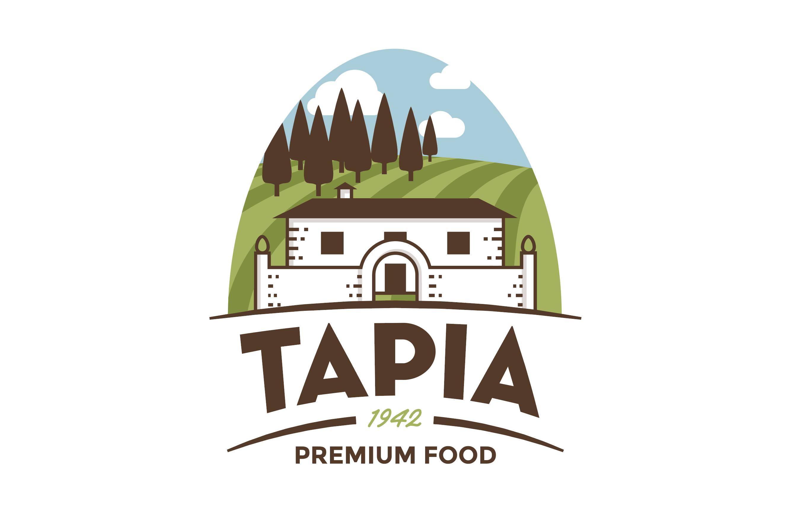 Diseño del logotipo de Tapia