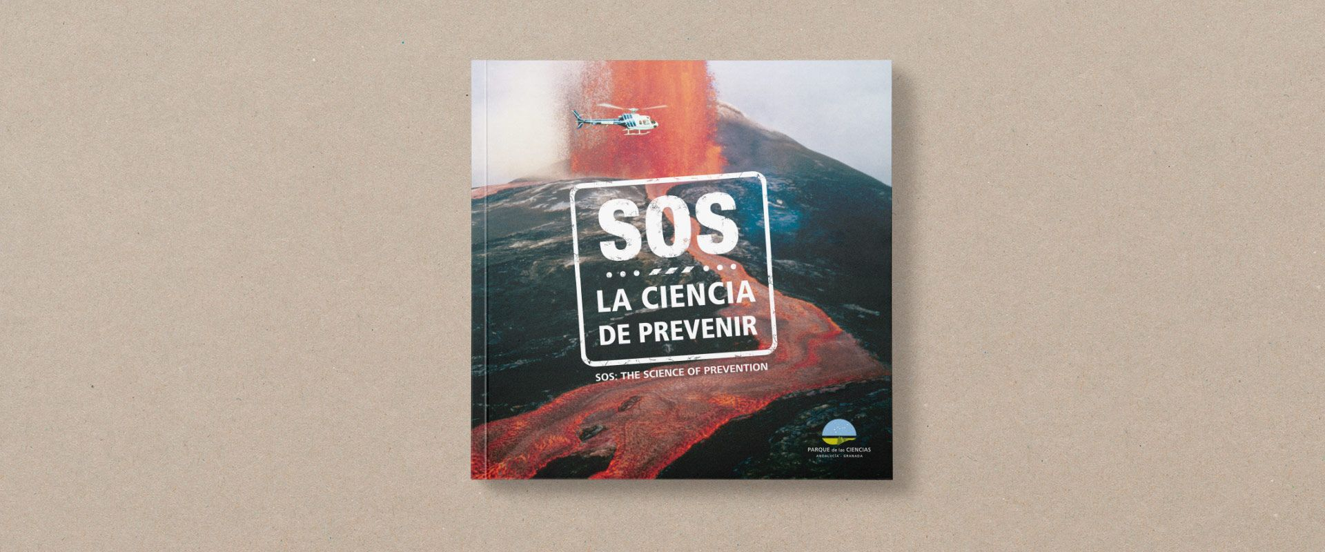 portada catálogo exposición SOS del parque de las ciencias de granada SOS img-total