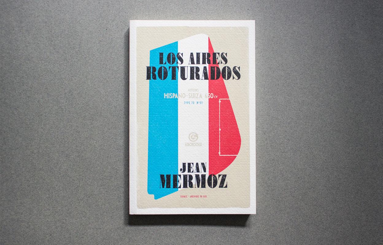 diseño de cubierta de libro Los Aires Roturados img-right-big