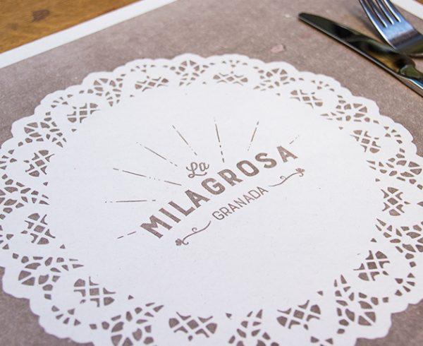 Diseño de identidad La Milagrosa