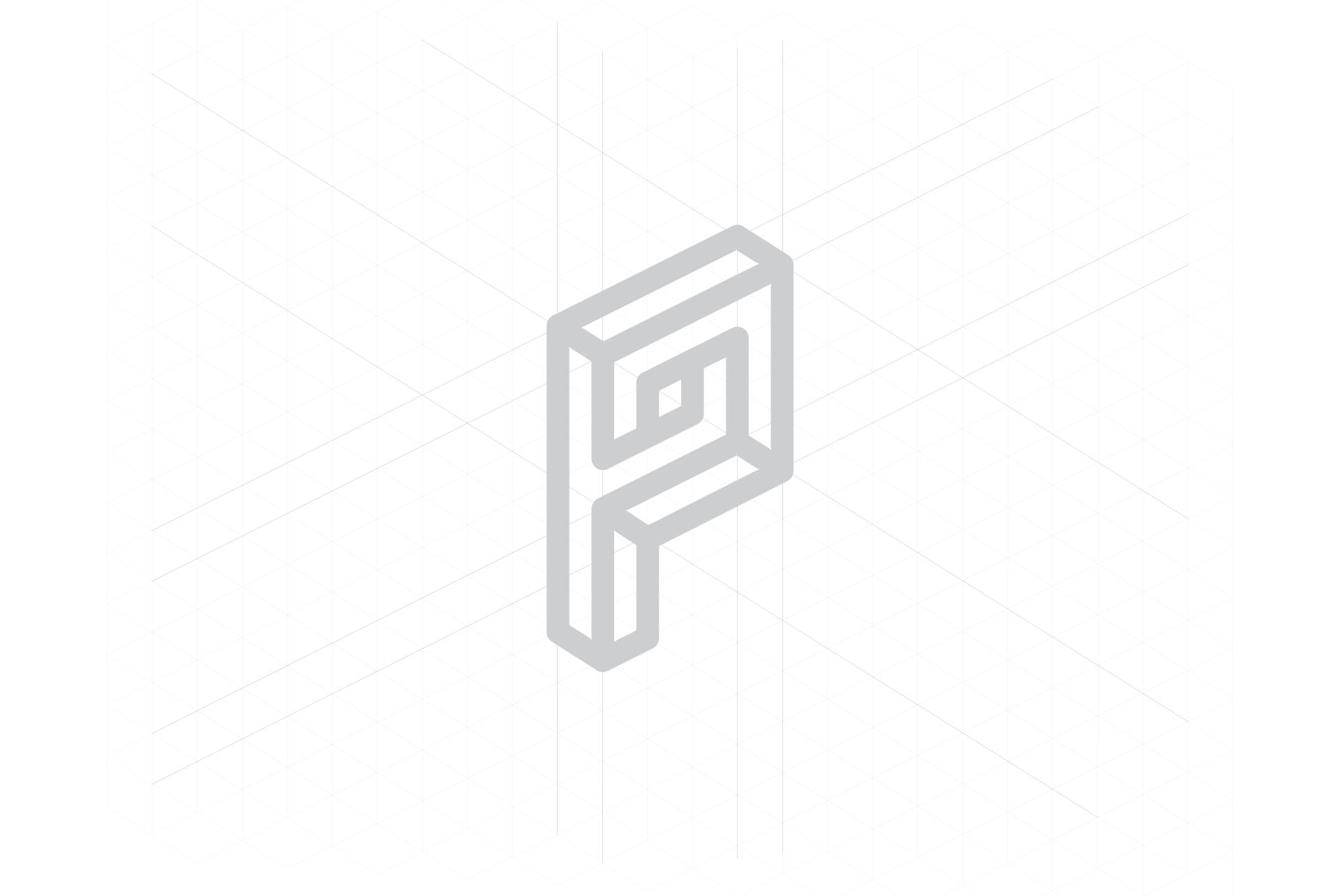 Construcción del imagotipo de Porman
