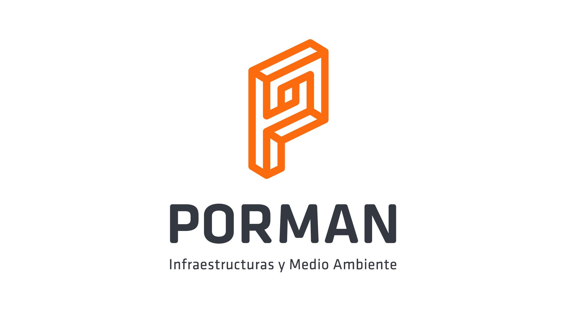 Logotipo diseñado para Porman