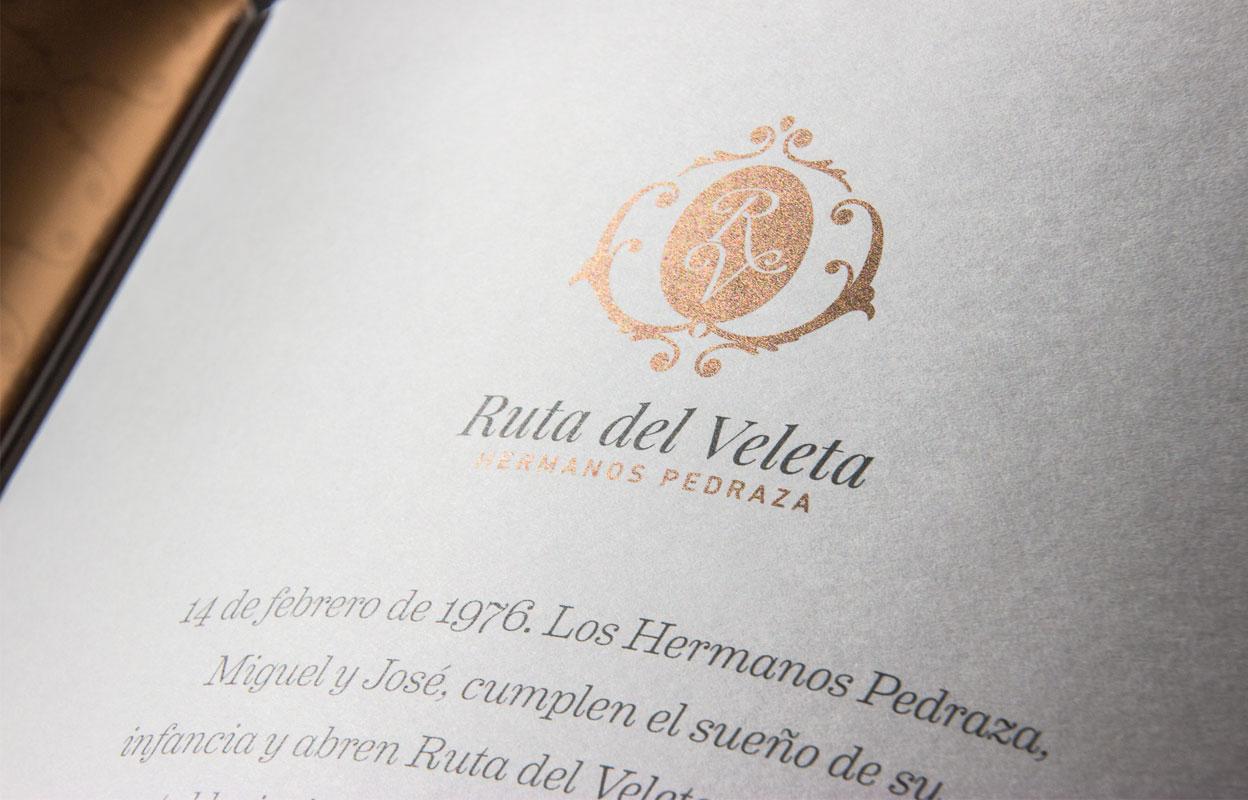 Rediseño de cartas restaurante ruta del veleta Ruta del Veleta img-left-big