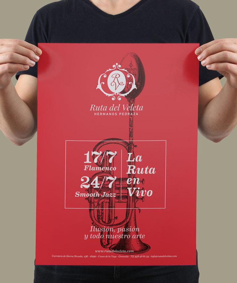 Rediseño de cartas restaurante ruta del veleta Ruta del Veleta img-right-small