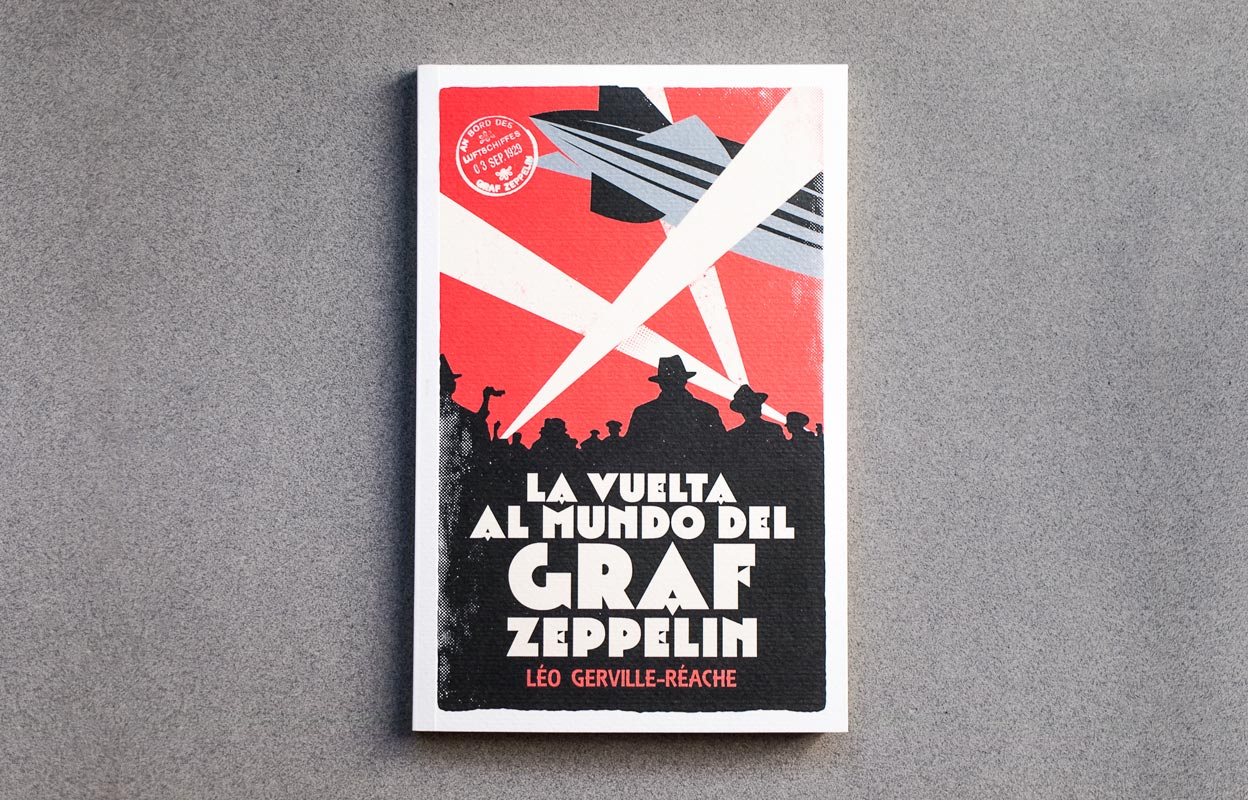 diseño de cubierta de libro La vuelta al mundo del Graf Zeppelin img-left-big