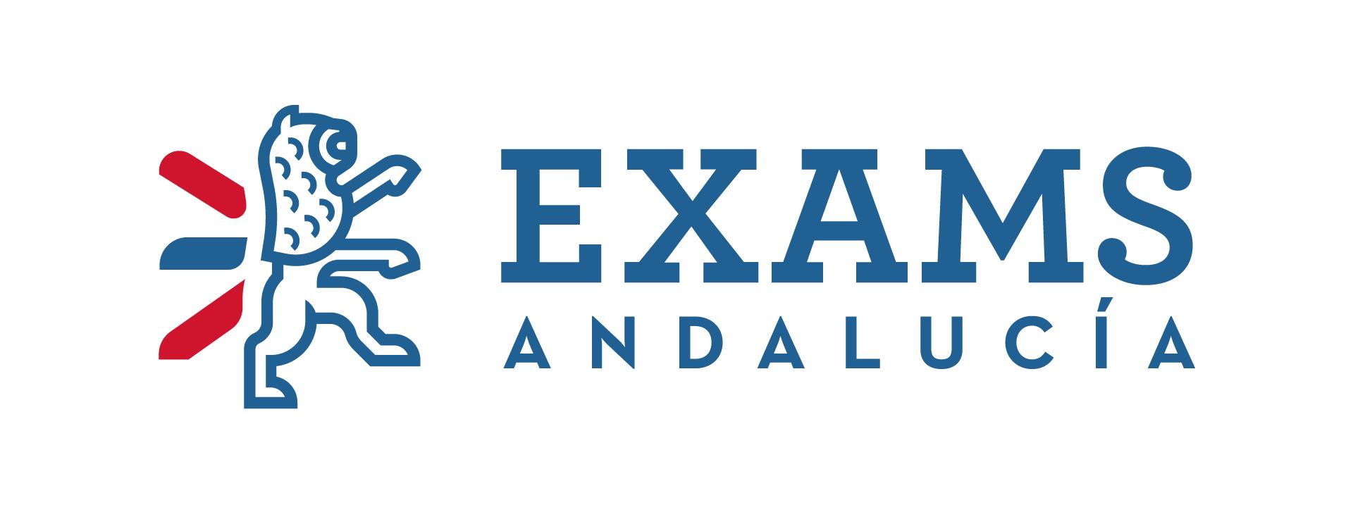 Logotipo diseñado para Exams Andalucía