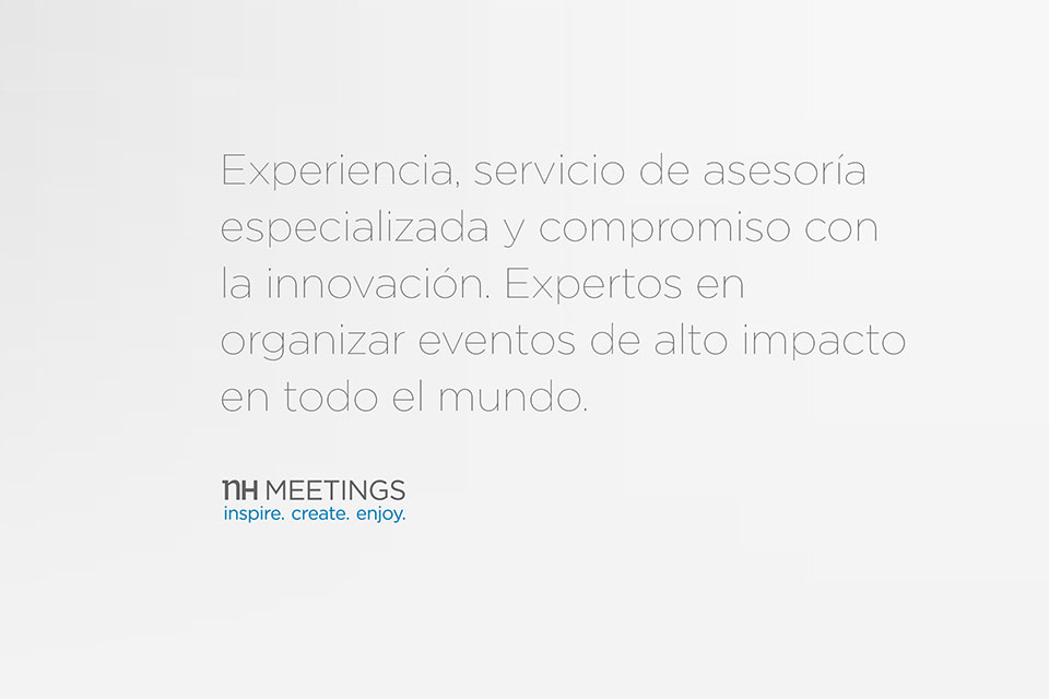 Expertos en organización de eventos NH Meetings item-gallery-50