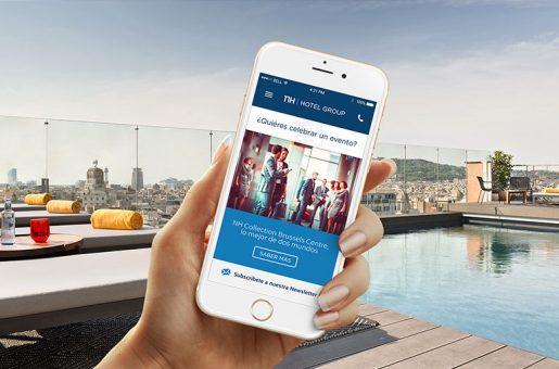 Diseño web para NH Meetings