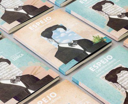 Diseño editorial Espejo Capricho sonoro escénico Lorca