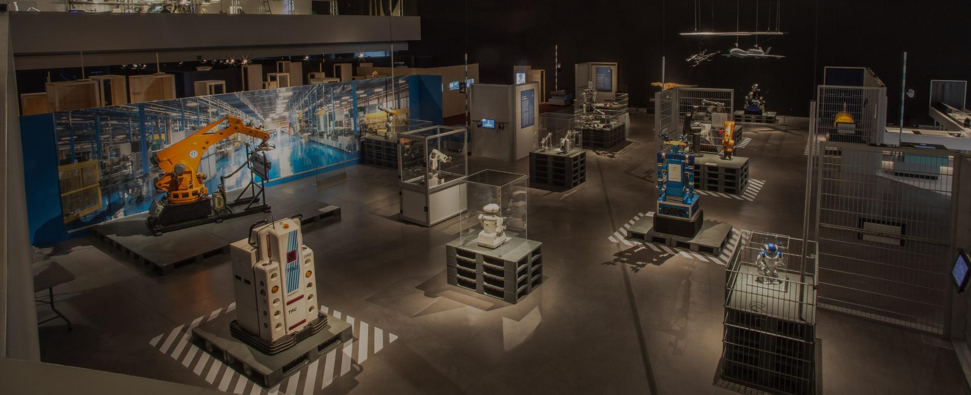 Diseño Editorial Parque de las Ciencias Exposición Robots