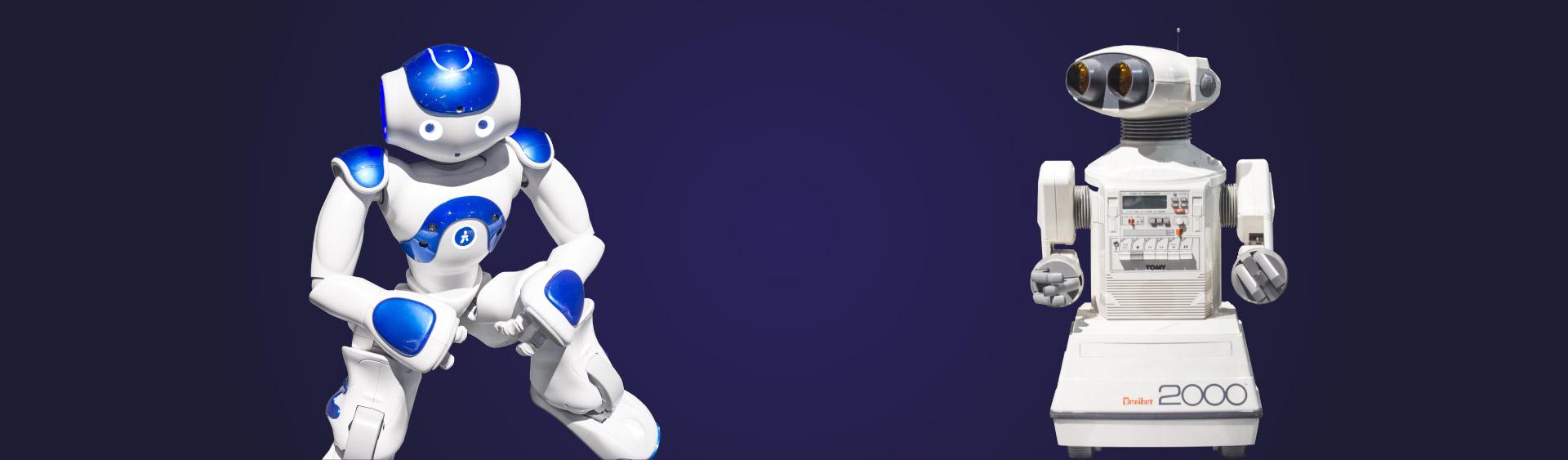 Diseño catálogo exposición momias del parque de las ciencias de granada Robots img-total