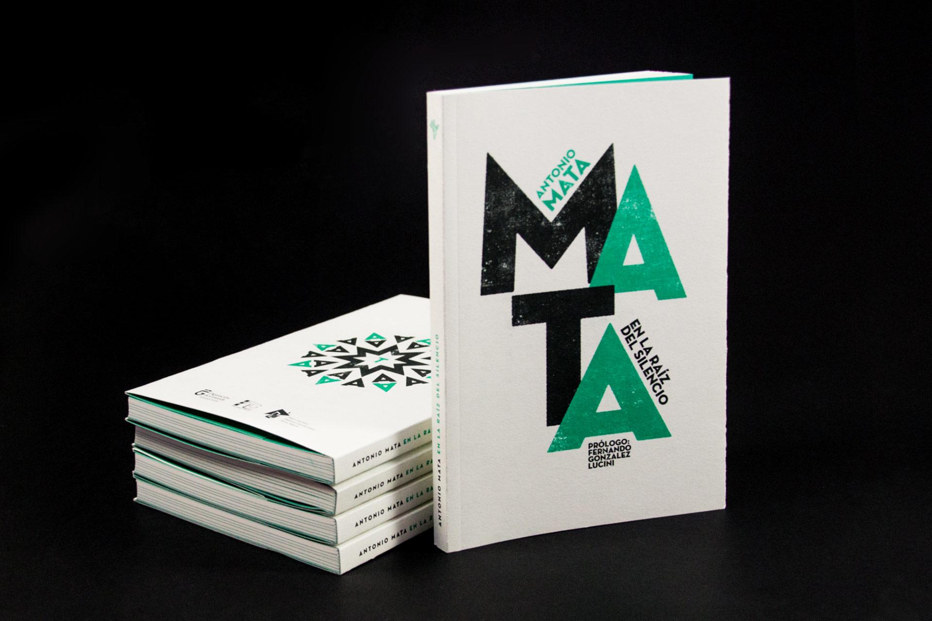 Diseño editorial para Antonio Mata