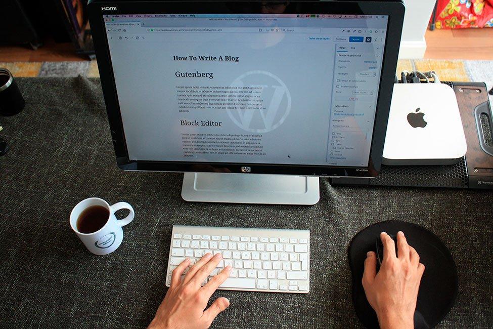 Uso de Gutenber en WordPress