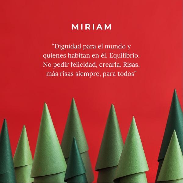 Ningún deseo sin árbol en Squembri | Miriam