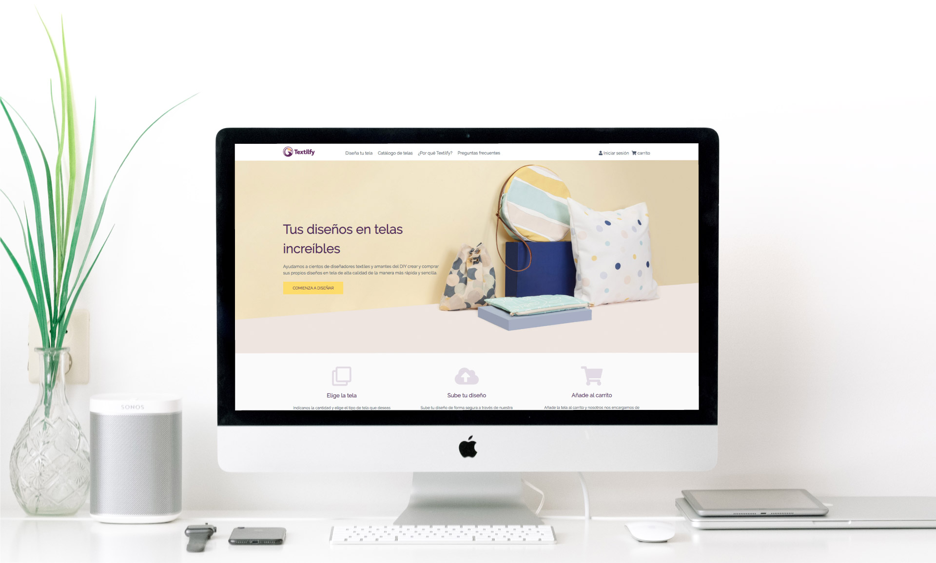 Proyecto tienda online Textilfy | Squembri