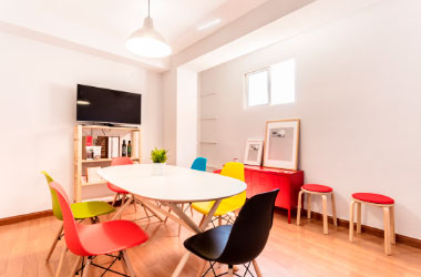 Oficina de Squembri Málaga - Sala de reuniones