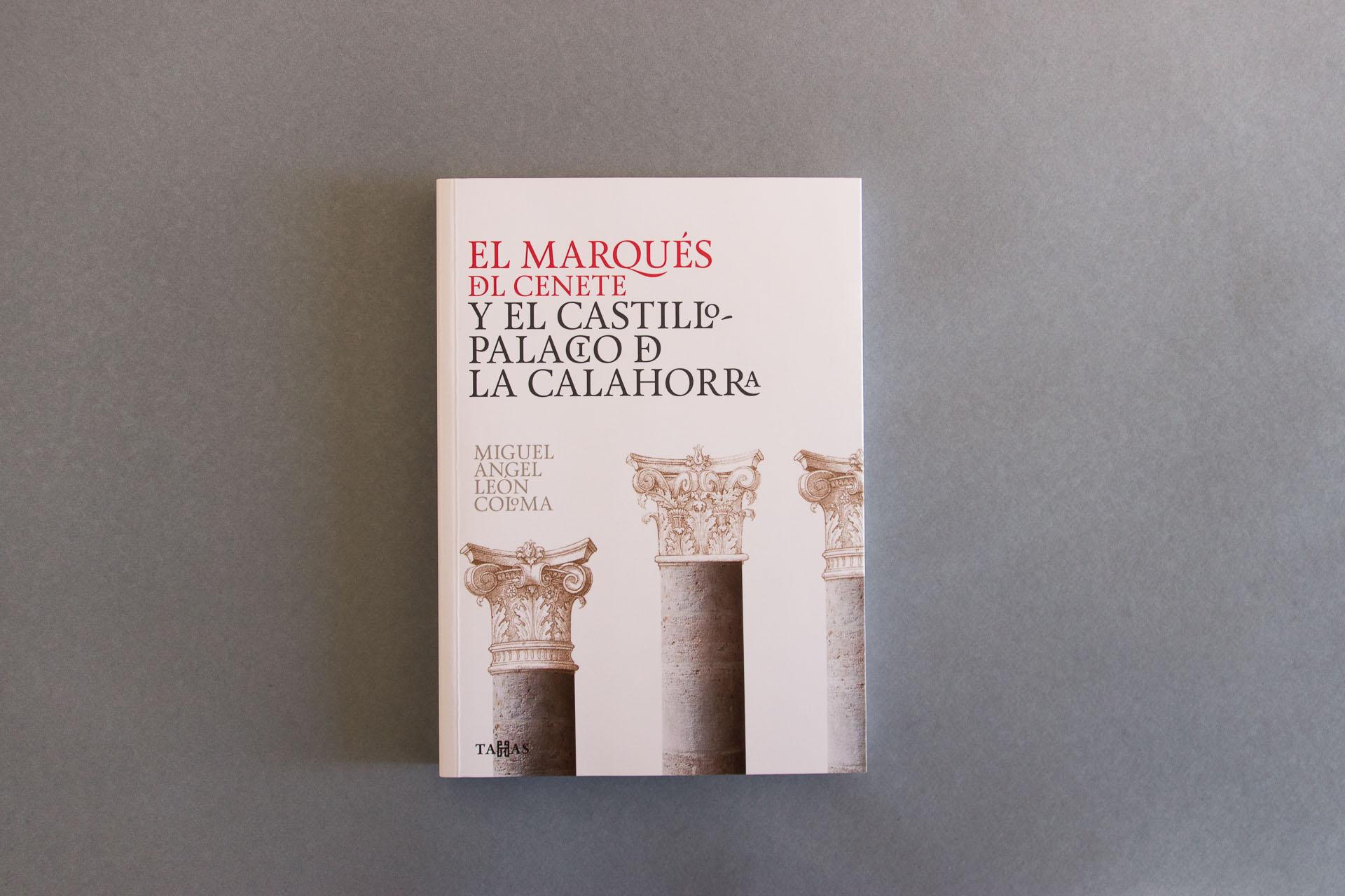 Diseño de cubierta del libro del Marqués de Cenete