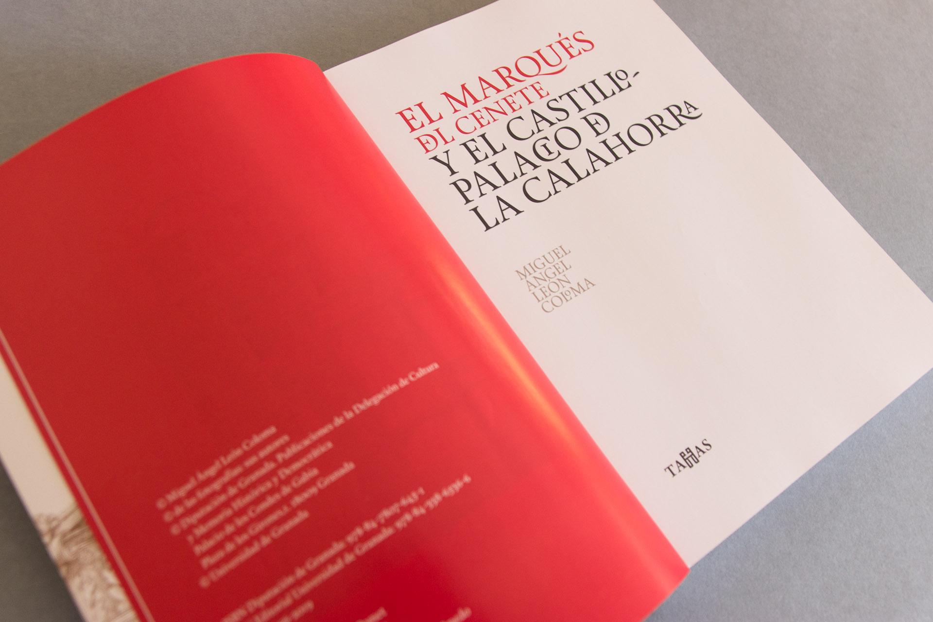 Páginas iniciales del libro del Marqués de Cenete