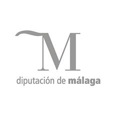 Logotipo de la Diputacion de Málaga