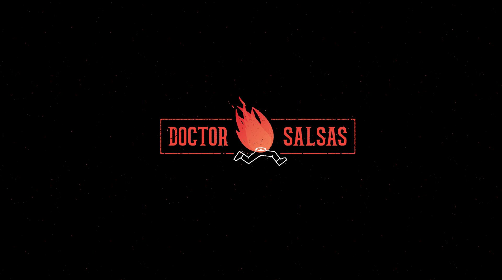 Logotipo diseñado para Doctor Salsas
