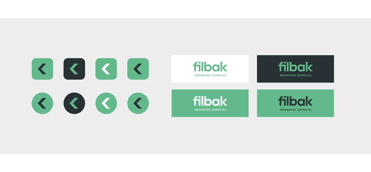 Detalles de diseño UI del website de Filbak