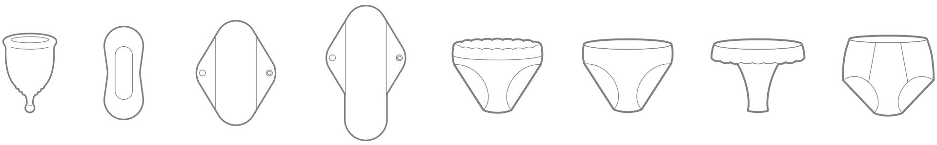 Ilustraciones de los productos de Yobludi