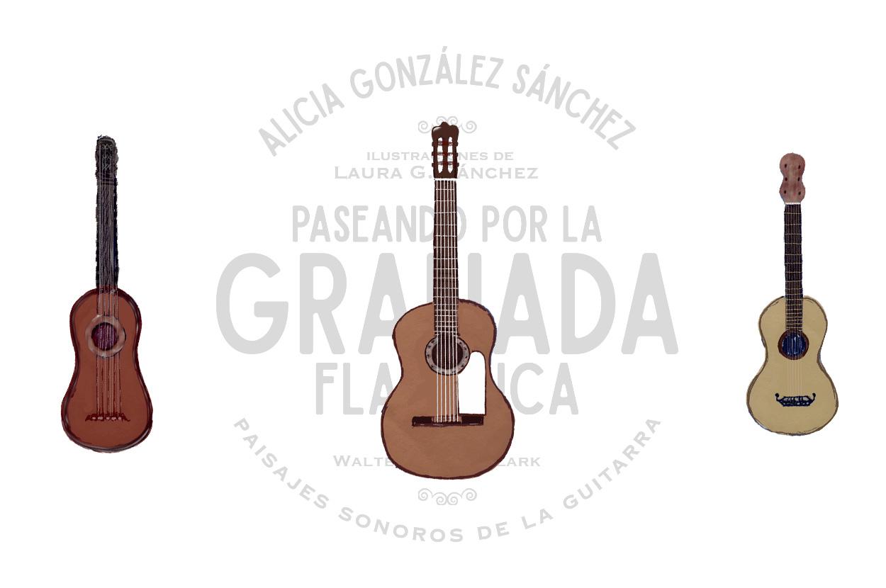 """Ilustración para """"Paseando por la Granada Flamenca"""""""
