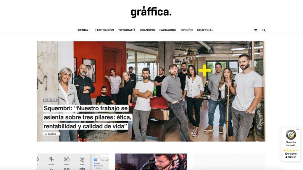 Agencia de publicidad Squembri en Gráfica